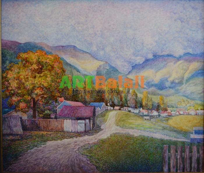 Artist Borit`ko Viktor Mikhai`lovich: Архыз.