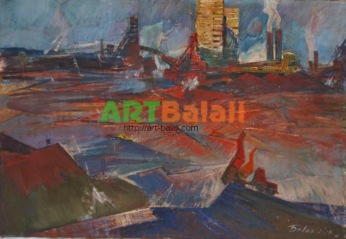 Artist Belov V.: Industrial Cribbas