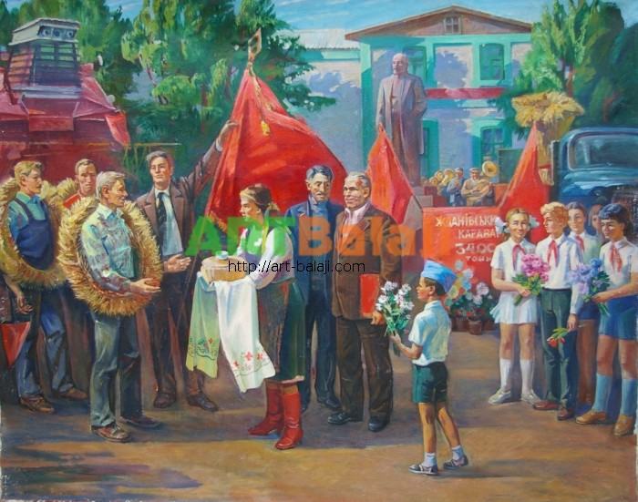 Artist Belianskiy A.N.: Celebration