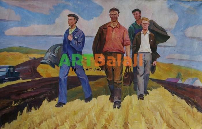 Artist : Combine harvesters