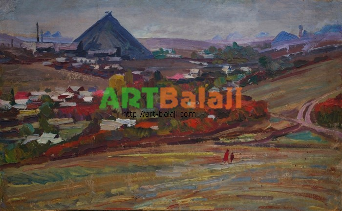 Artist : Landscape with Terecones