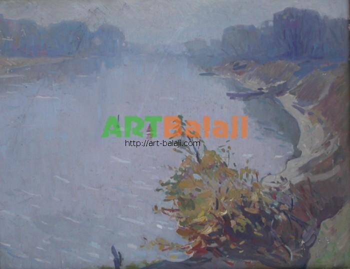 Artist Беликов Василий Матвеевич: Fog