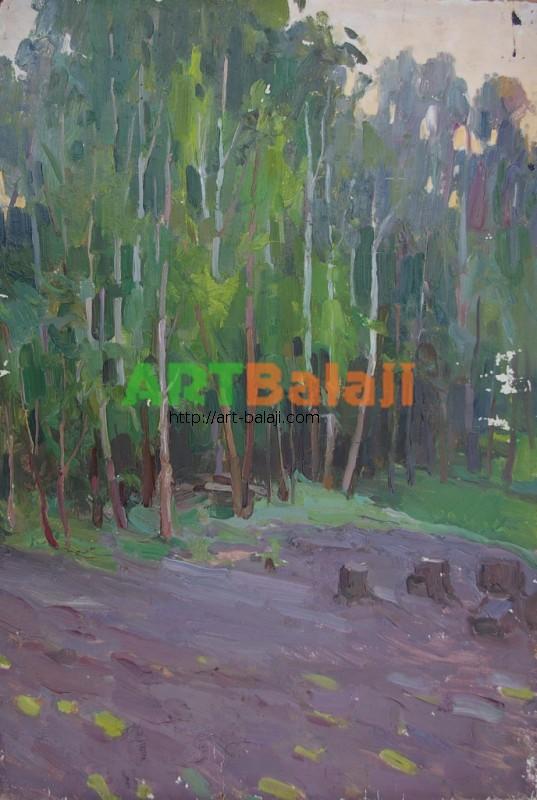 Artist Panich V. I.: Etude