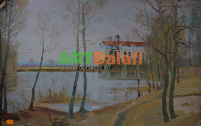 Artist Tolokonnikova M.N.: Landscape