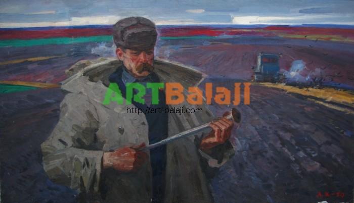 Artist : Duma grain-growers. Agronomist