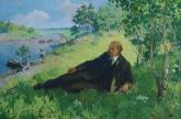 Безуглый Д. Ленин на отдыхе 100-150 х.м. 70е 2.5.JPG