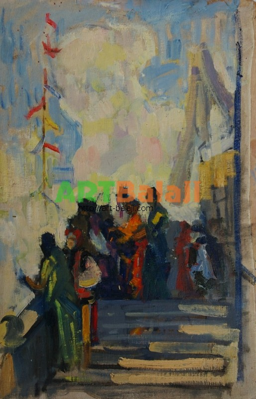 Artist : Бондаренко С.В. Фестиваль Молодежи 1957г. 55-35 к.м. 57е 0.1.JPG