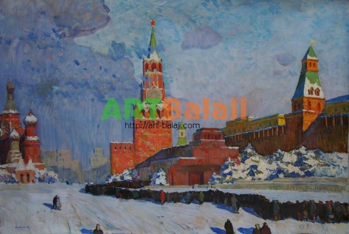 Художник : Вагин Б.И. Красная площадь