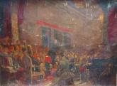 Выступление ленина на 3 съезде Коп Клепиков,Попов 173-240 х.м. 7