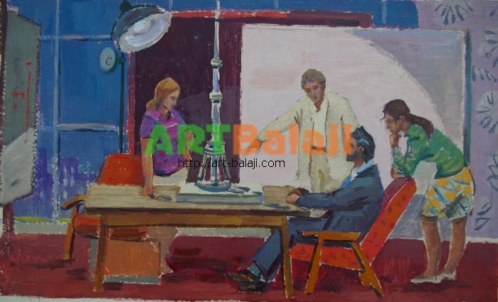 Artist : Горшков Н. Инженеры 27-45 к.м. 70е.JPG