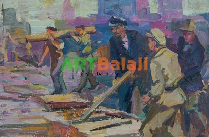 Artist : Коган-шац Ленин 21-32 к.м. 70е.JPG