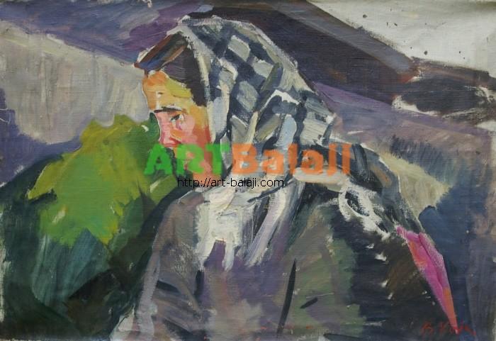 Artist : Козик В. Пор-т 48-70 х.м. 70е 0.2.JPG