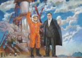Кокин М.А. Полёт Гагарина 140-197  80-е г. 4.JPG