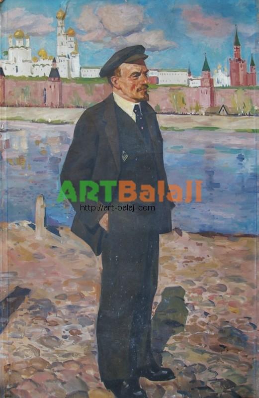 Artist : Ленин В.И. 125-198 х.м. 70е 0,2.JPG