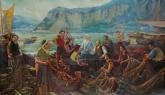 Ленин с рыбаками