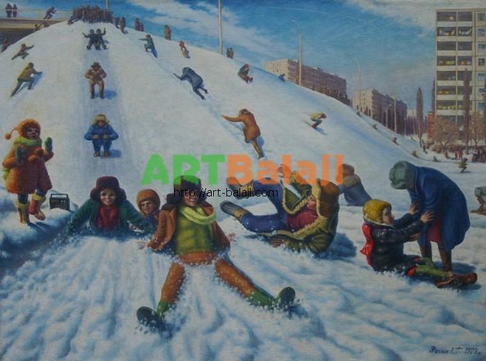 Artist : Носик А.П. Дети 76-100 х.м. 77г 1.JPG