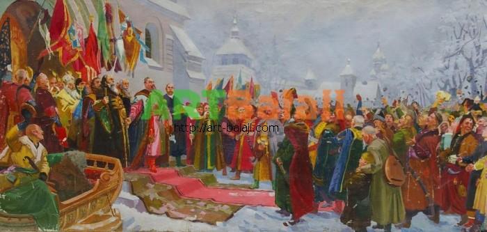 Artist : Переясловская рада 94-192 х.м. 70е 0,4.JPG