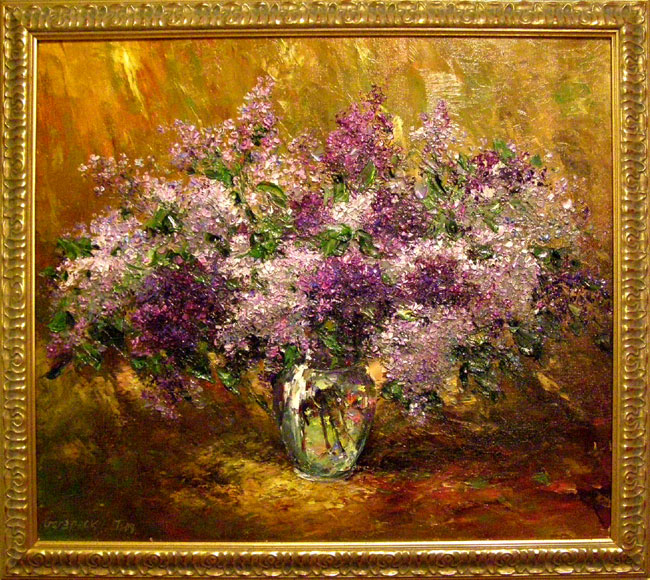 Artist Stegaresku Tudor: Lilac